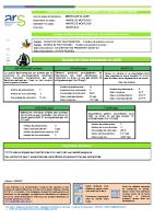 Eaux Montlaux qualité 2020 11/2/2021